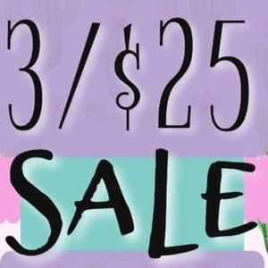 🌟 SALE 🌟 🛍️3 For $25 FOR SELECT ITEMS🌟